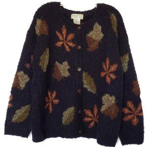 Mandal Bay Mohair Wool Autumn Cardigan Size XXL